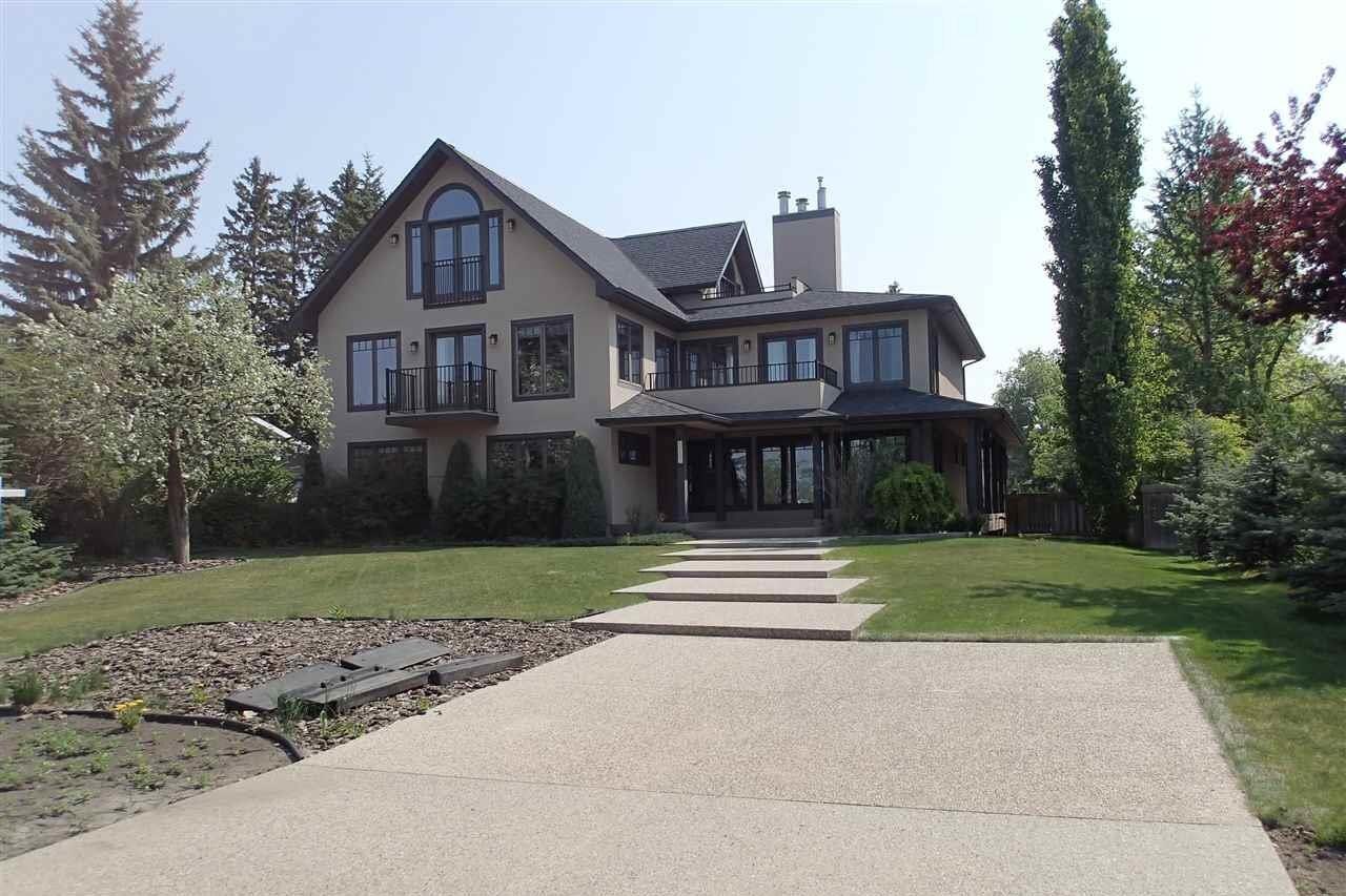 House for sale at 7903 Saskatchewan Dr NW Edmonton Alberta - MLS: E4216284