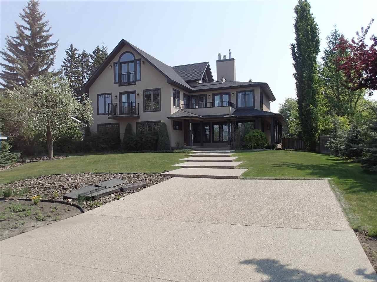 House for sale at 7903 Saskatchewan Dr Nw Edmonton Alberta - MLS: E4176045