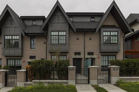 Townhouse for sale at 7923 Oak St Vancouver British Columbia - MLS: R2427026