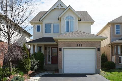 House for sale at 793 Sandcherry St South London Ontario - MLS: 194050
