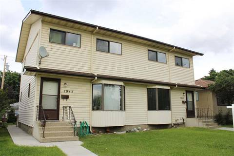 Townhouse for sale at 7942 82 Ave Nw Unit 7940 Edmonton Alberta - MLS: E4164696