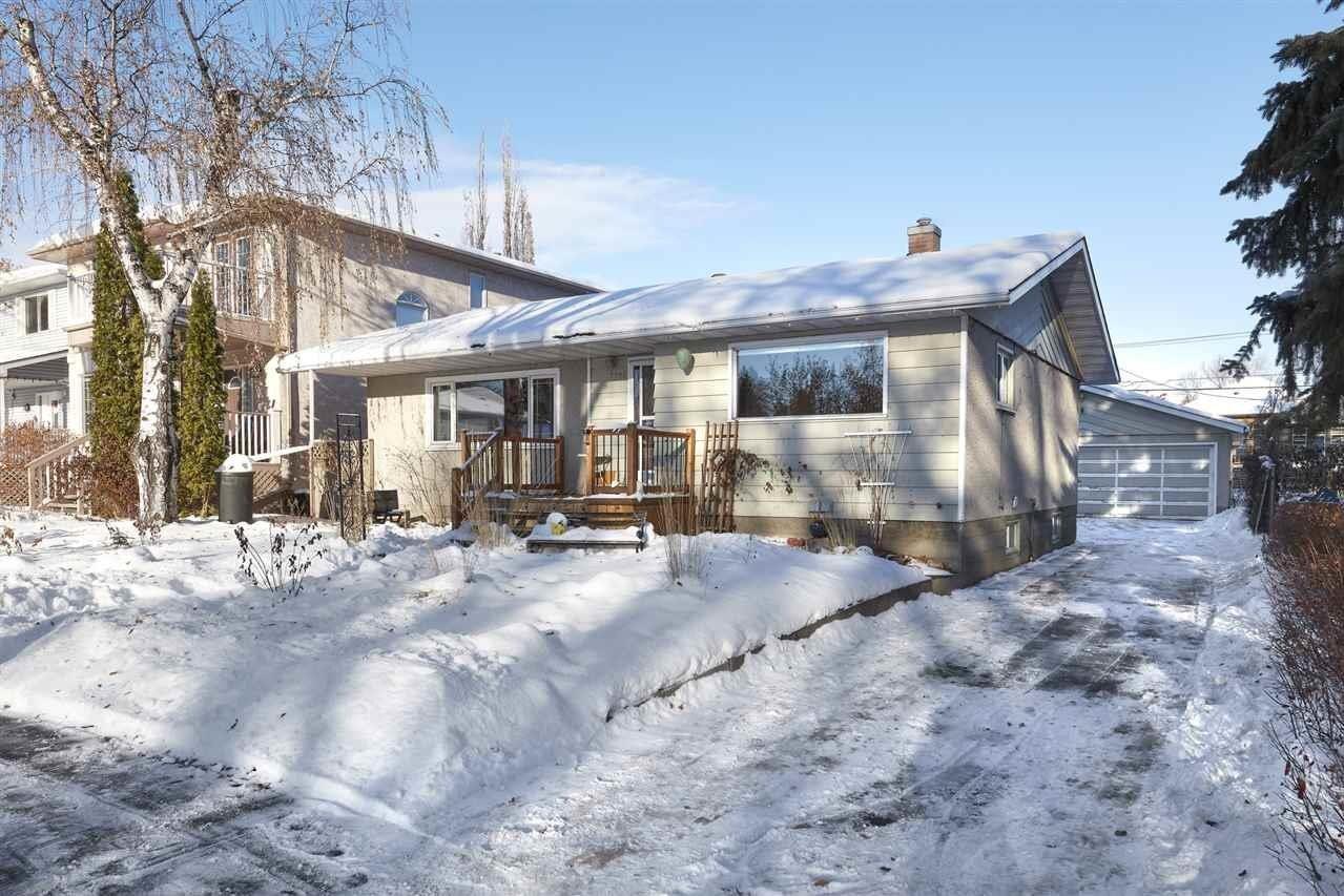 House for sale at 7952 97 Av NW Edmonton Alberta - MLS: E4221970