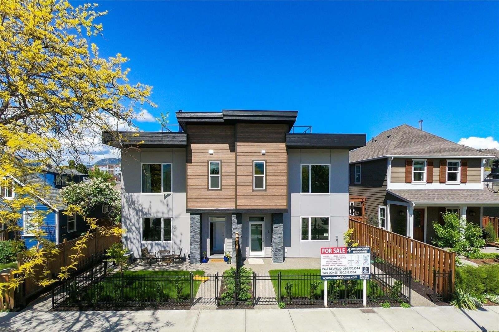 Townhouse for sale at 796 Cawston Ave Kelowna British Columbia - MLS: 10202159