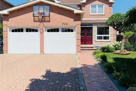 House for sale at 799 Esprit Cres Mississauga Ontario - MLS: W4829760
