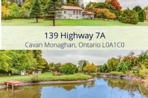 House for sale at 139 Highway 7a Hy Cavan Monaghan Ontario - MLS: X4597240