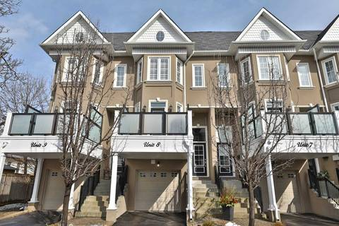 Townhouse for sale at 117 Nelson St Unit 8 Oakville Ontario - MLS: W4696055