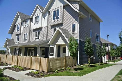 Townhouse for sale at 13003 132 Ave Nw Unit 8 Edmonton Alberta - MLS: E4152668