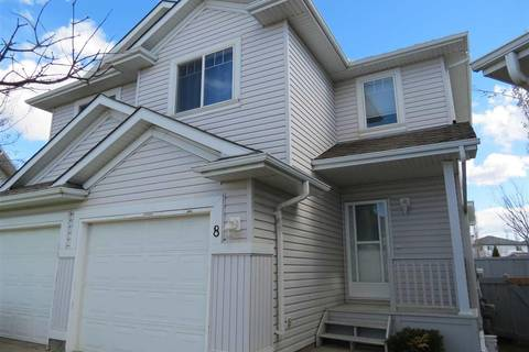 Townhouse for sale at 13403 Cumberland Rd Nw Unit 8 Edmonton Alberta - MLS: E4143411