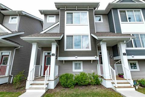 Townhouse for sale at 140 Youville Dr Nw Unit 8 Edmonton Alberta - MLS: E4158037