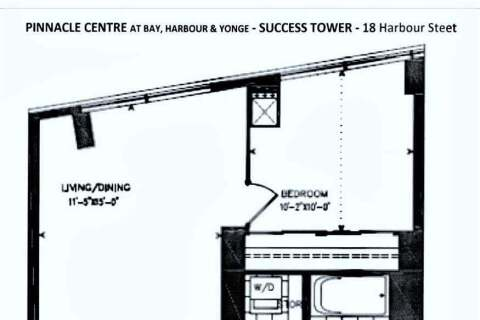 Apartment for rent at 18 Harbour St Unit 408 Toronto Ontario - MLS: C4770456