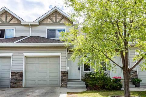 Townhouse for sale at 249 Edwards Dr Sw Unit 8 Edmonton Alberta - MLS: E4157792