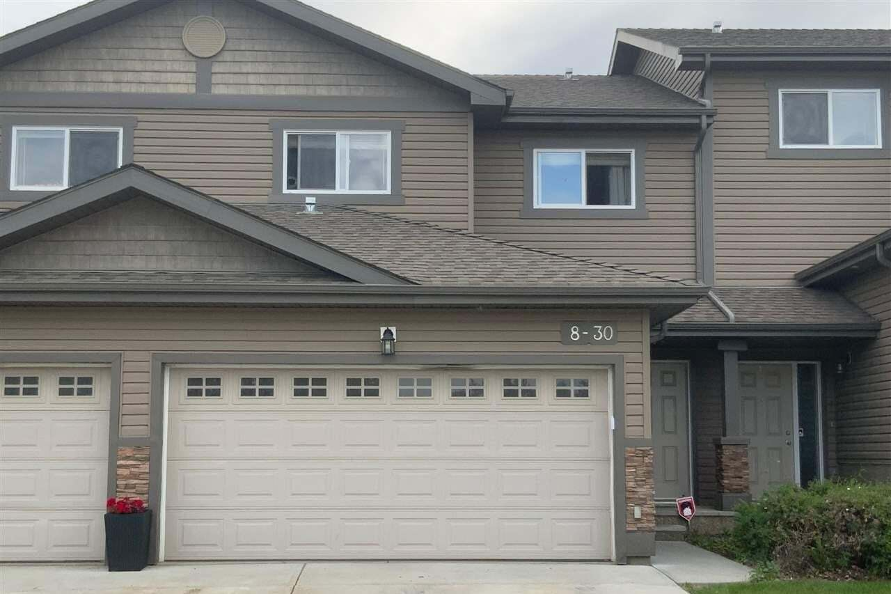 Townhouse for sale at 30 Oak Vista Dr Unit 8 St. Albert Alberta - MLS: E4203766