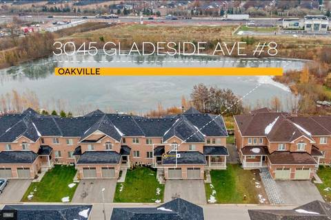 Townhouse for sale at 3045 Gladeside Ave Unit 8 Oakville Ontario - MLS: W4640645