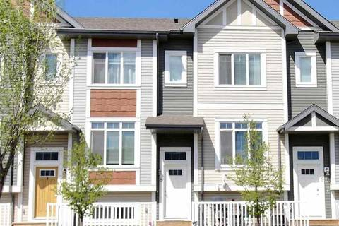 Townhouse for sale at 320 Secord Blvd Nw Unit 8 Edmonton Alberta - MLS: E4157731