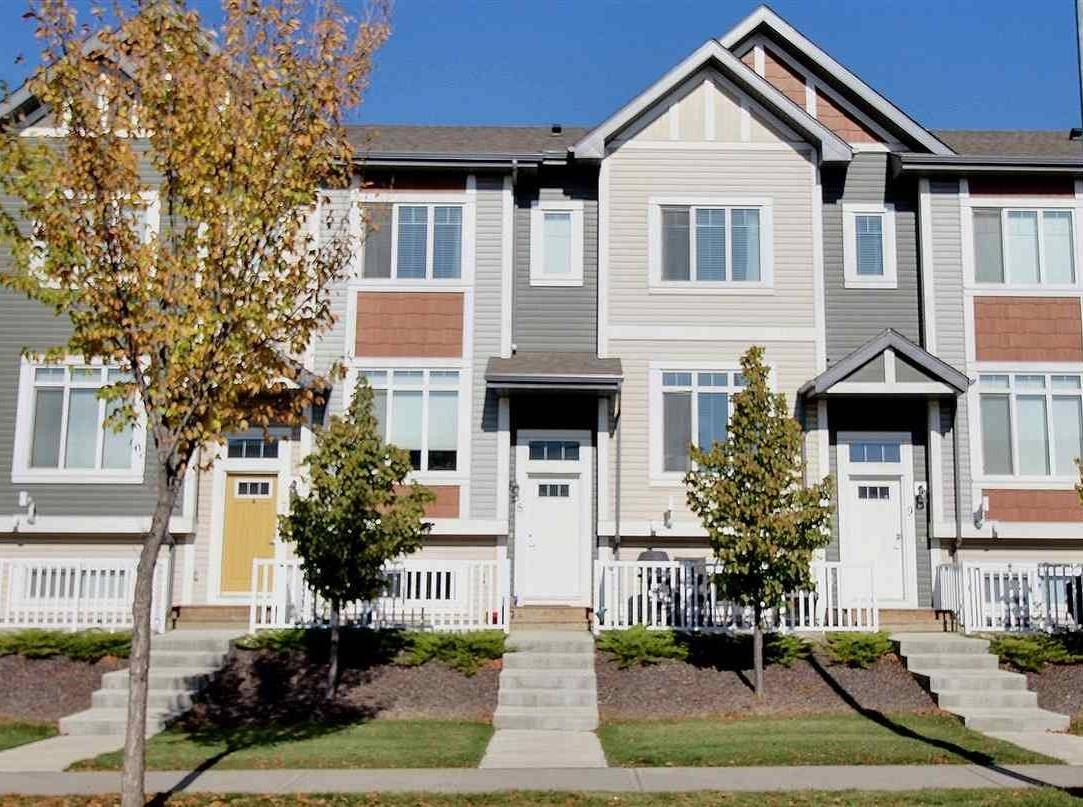 Townhouse for sale at 320 Secord Blvd Nw Unit 8 Edmonton Alberta - MLS: E4176390