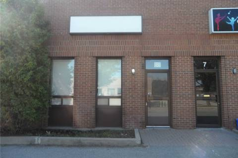 Commercial property for lease at 33 Alliance Blvd Apartment #8 Barrie Ontario - MLS: S4580288