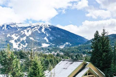 Townhouse for sale at 3502 Falcon Cres Unit 8 Whistler British Columbia - MLS: R2436346