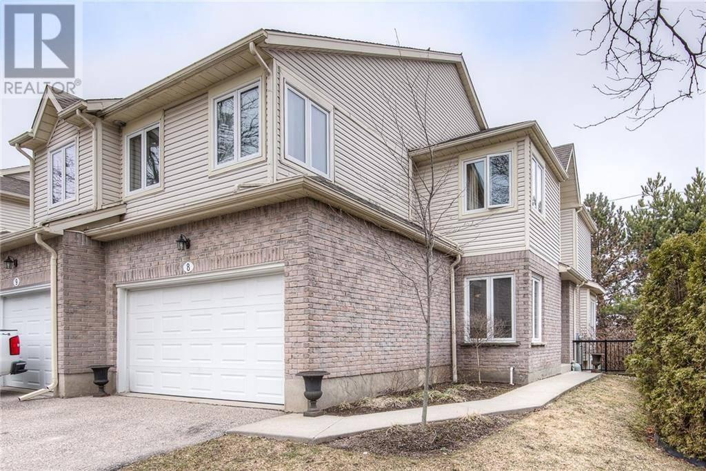 Townhouse for sale at 365 Bennington Gt Unit 8 Waterloo Ontario - MLS: 30804540
