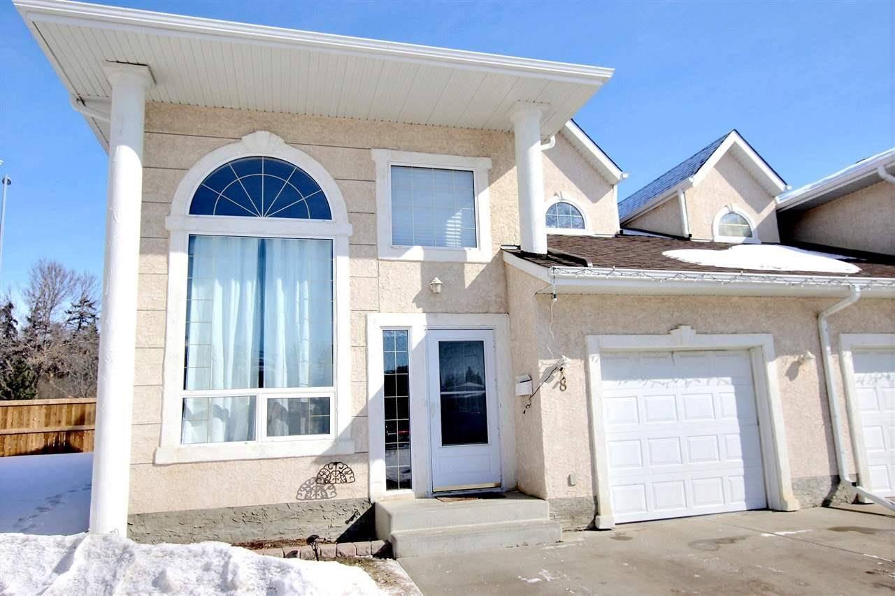 Townhouse for sale at 4 Fraser Dr Unit 8 St. Albert Alberta - MLS: E4188922