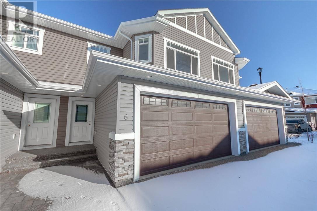 Townhouse for sale at 441 Millennium Dr Unit 8 Fort Mcmurray Alberta - MLS: fm0181491