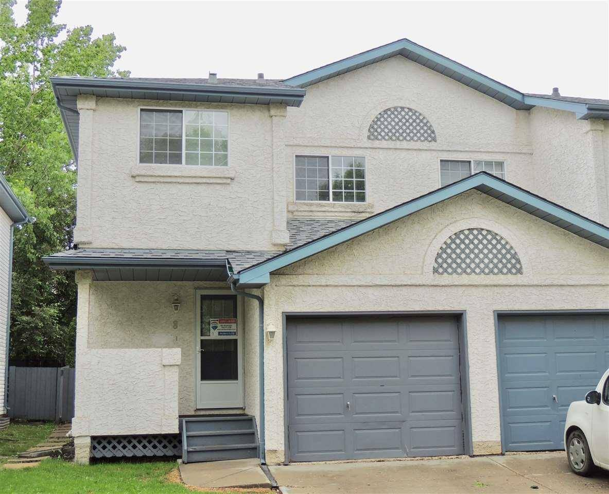 Townhouse for sale at 501 Youville Dr Nw Unit 8 Edmonton Alberta - MLS: E4160053