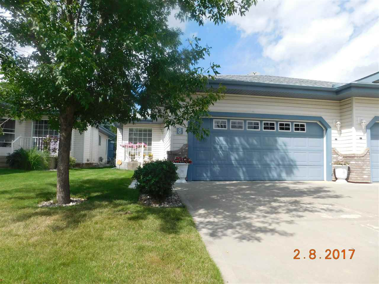 For Sale: 8 - 51 Eldorado Drive, St Albert, AB | 2 Bed, 3 Bath Townhouse for $439,000. See 15 photos!