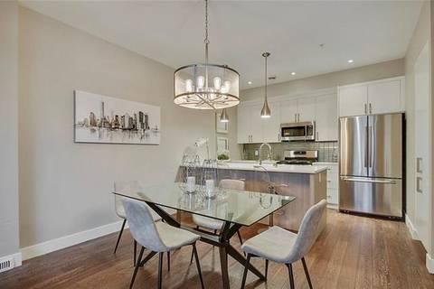 Townhouse for sale at 535 33 St Northwest Unit 8 Calgary Alberta - MLS: C4254746