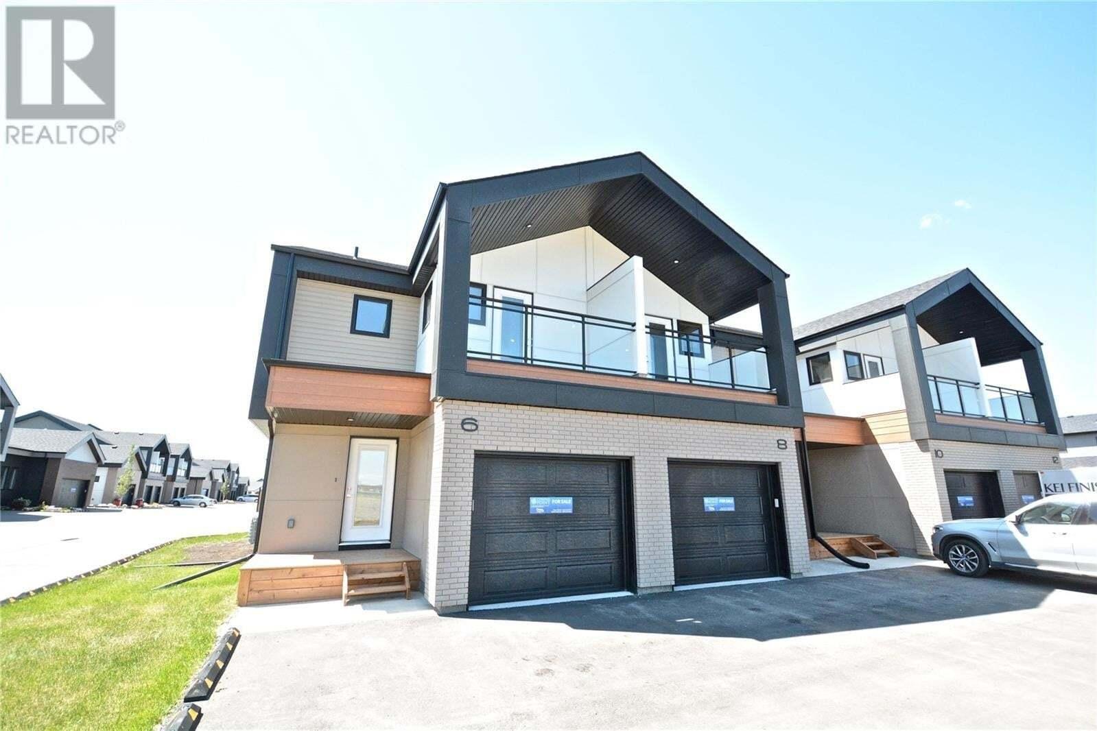 Townhouse for sale at 619 Evergreen Blvd Unit 8 Saskatoon Saskatchewan - MLS: SK817294