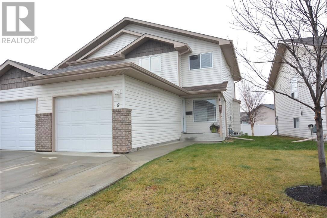 Townhouse for sale at 6220 Orr Dr Unit 8 Red Deer Alberta - MLS: ca0183120