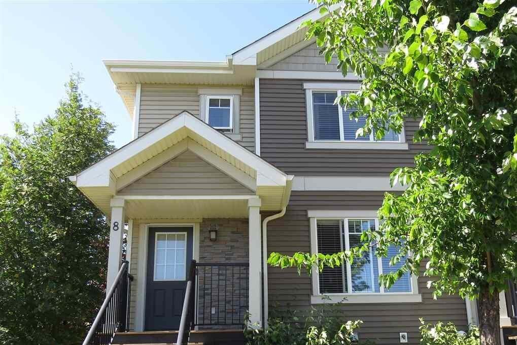 Townhouse for sale at 675 Albany Wy NW Unit 8 Edmonton Alberta - MLS: E4209374