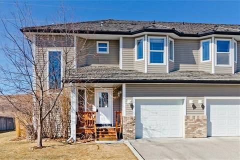 Townhouse for sale at 84 Bow Ridge Cres Unit 8 Cochrane Alberta - MLS: C4236950