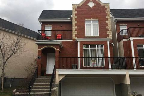 Townhouse for sale at 8403 164 Ave Nw Unit 8 Edmonton Alberta - MLS: E4150076