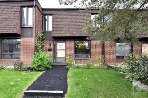 Condo for sale at 890 Cahill Dr Unit 8 Ottawa Ontario - MLS: 1200729