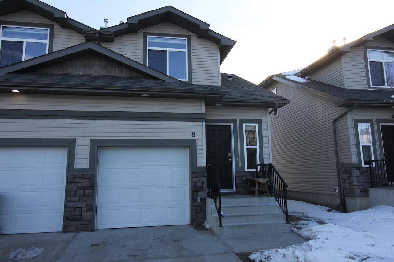Townhouse for sale at 9511 102 Ave Unit 8 Morinville Alberta - MLS: E4192677