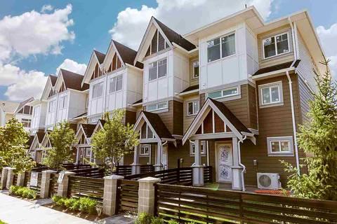 Townhouse for sale at 9728 Alberta Rd Unit 8 Richmond British Columbia - MLS: R2390442