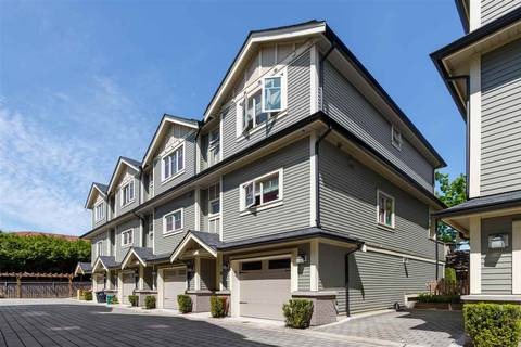 Townhouse for sale at 9833 Cambie Rd Unit 8 Richmond British Columbia - MLS: R2454770