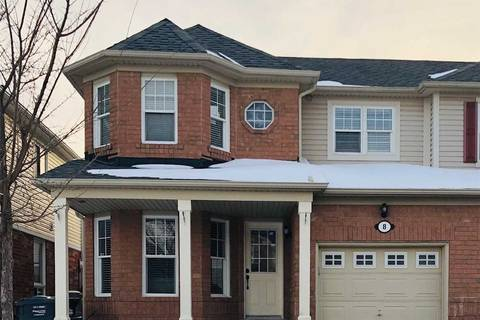 Townhouse for sale at 8 Bales Dr Brampton Ontario - MLS: W4372172