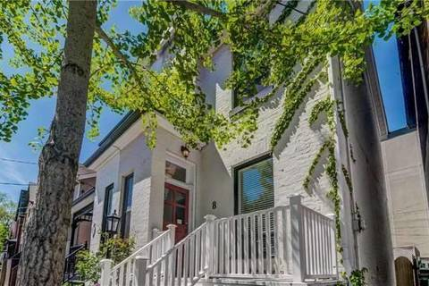 Townhouse for rent at 8 Bishop St Toronto Ontario - MLS: C4625333