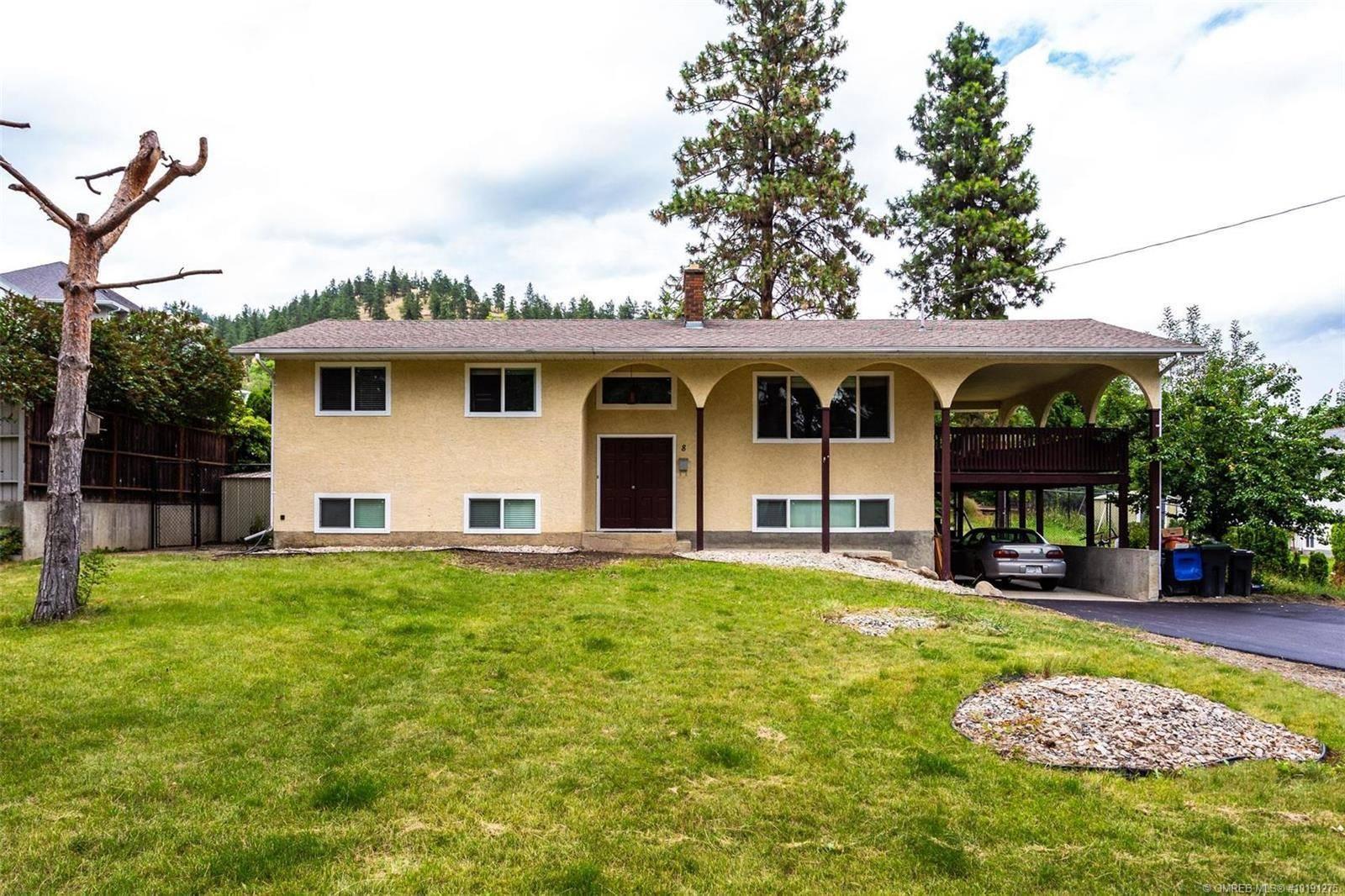 House for sale at 8 Caro Rd Kelowna British Columbia - MLS: 10191275