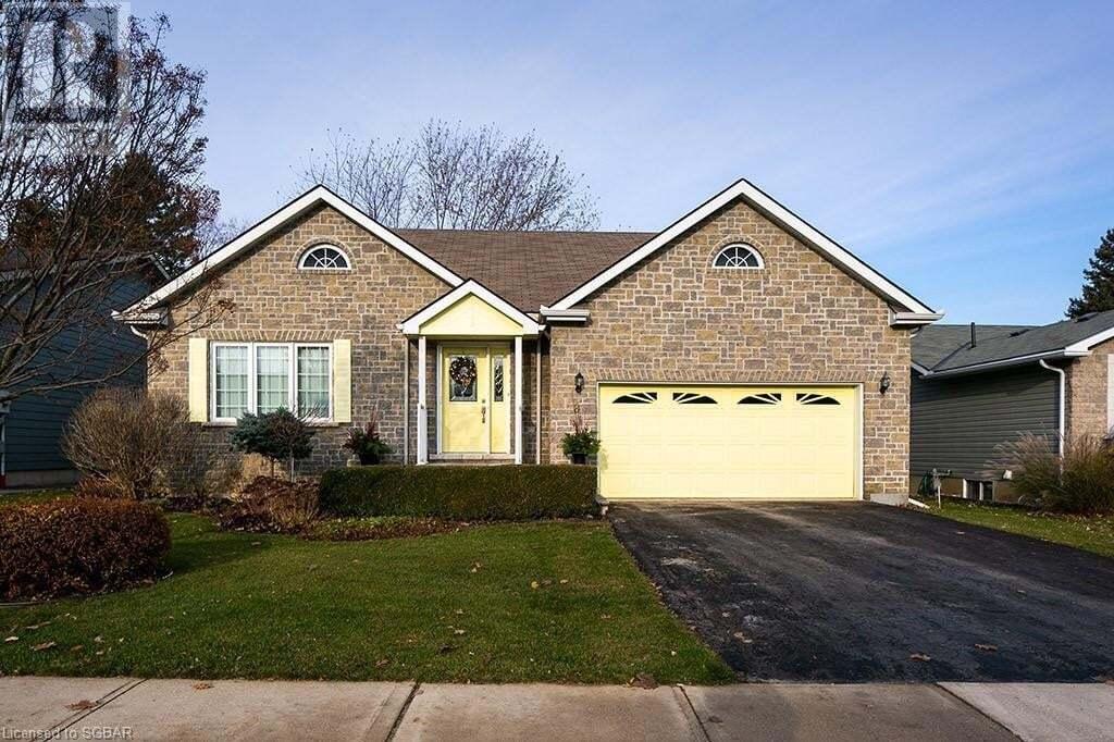 House for sale at 8 Cobblestone Ln Thornbury Ontario - MLS: 252599