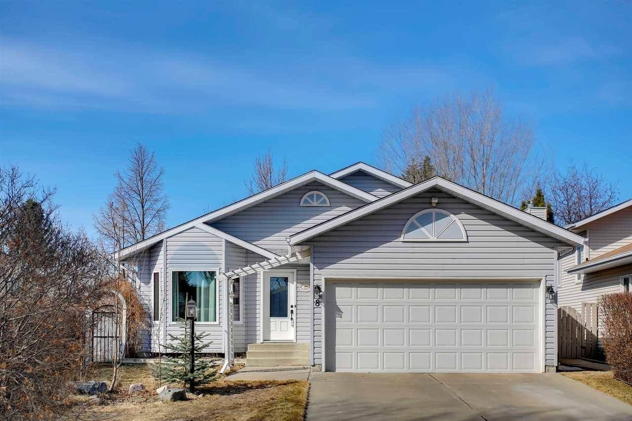 House for sale at 8 Denny Ct St. Albert Alberta - MLS: E4194079