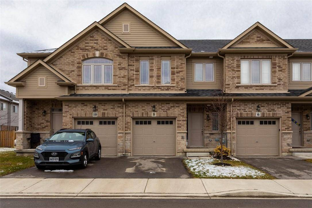 Townhouse for sale at 8 Destiny Ln Stoney Creek Ontario - MLS: H4075513