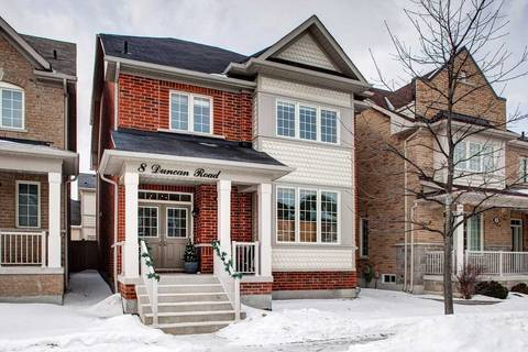 House for sale at 8 Duncan Rd Markham Ontario - MLS: N4374967