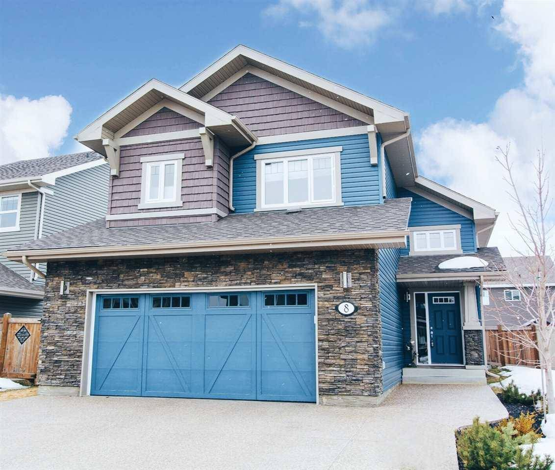 House for sale at 8 Eastview St N St. Albert Alberta - MLS: E4194255
