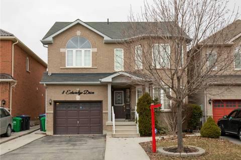 House for sale at 8 Echoridge Dr Brampton Ontario - MLS: W4728470