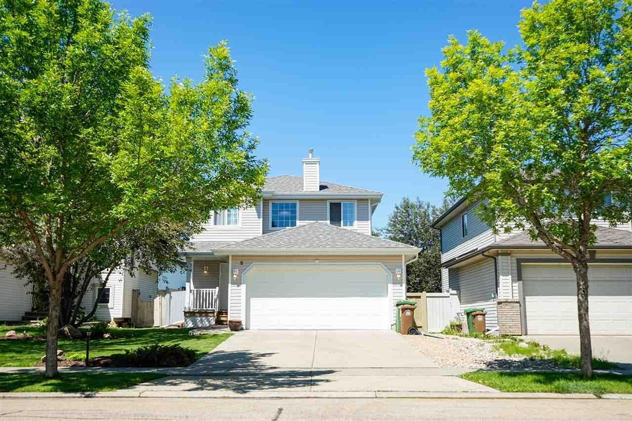 House for sale at 8 Escada Cl St. Albert Alberta - MLS: E4202751
