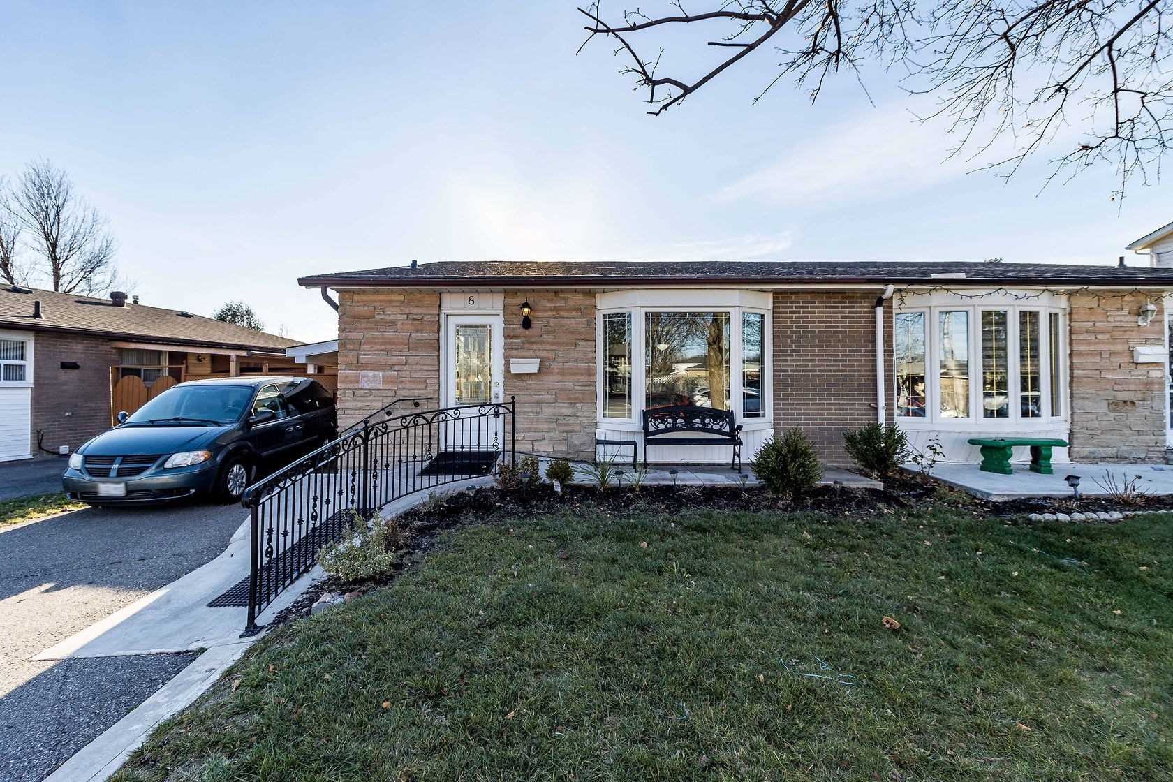 For Sale: 8 Fontaine Court, Brampton, ON | 3 Bed, 2 Bath Townhouse for $699900.00. See 20 photos!