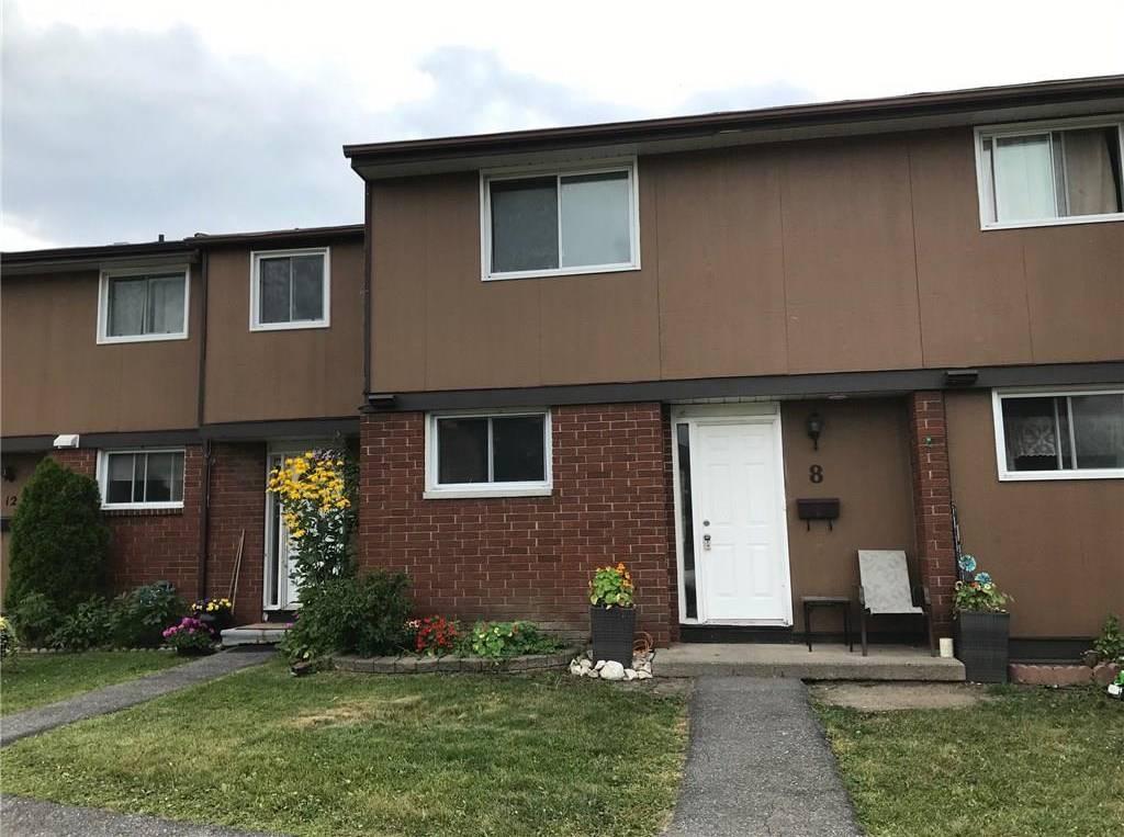 Townhouse for sale at 8 Glencoe St Ottawa Ontario - MLS: 1149838
