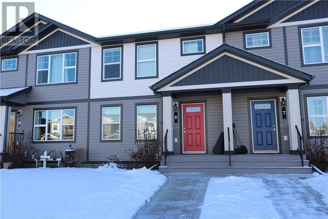 Townhouse for sale at 8 Hawthorn Pl Sylvan Lake Alberta - MLS: ca0184000