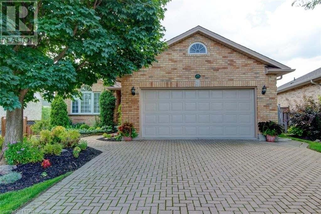 House for sale at 8 James Turvey Pl St. Thomas Ontario - MLS: 279807